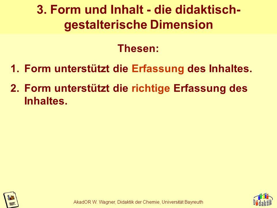 3. Form und Inhalt - die didaktisch-gestalterische Dimension