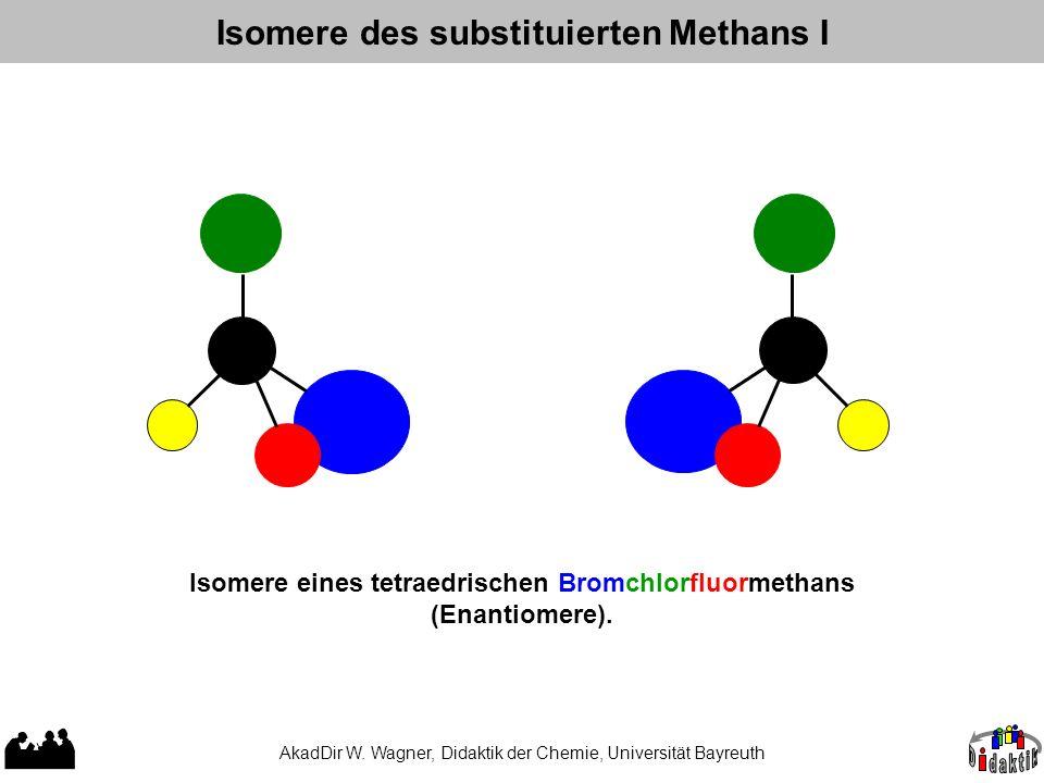 Isomere des substituierten Methans I