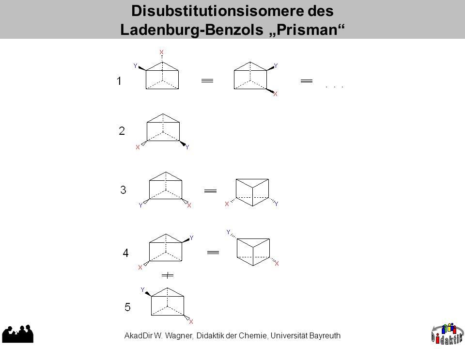 "Disubstitutionsisomere des Ladenburg-Benzols ""Prisman"
