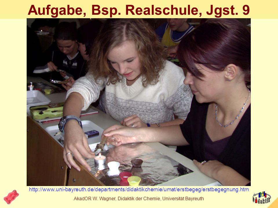 Aufgabe, Bsp. Realschule, Jgst. 9