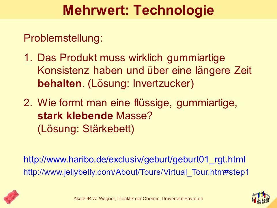 Mehrwert: Technologie