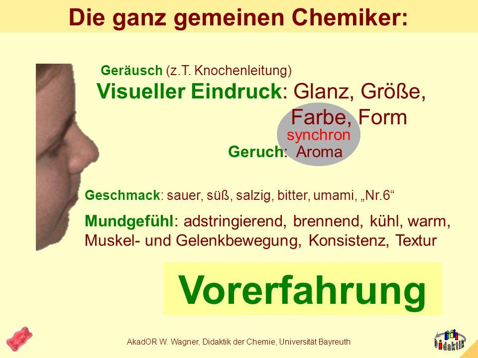 Die ganz gemeinen Chemiker: