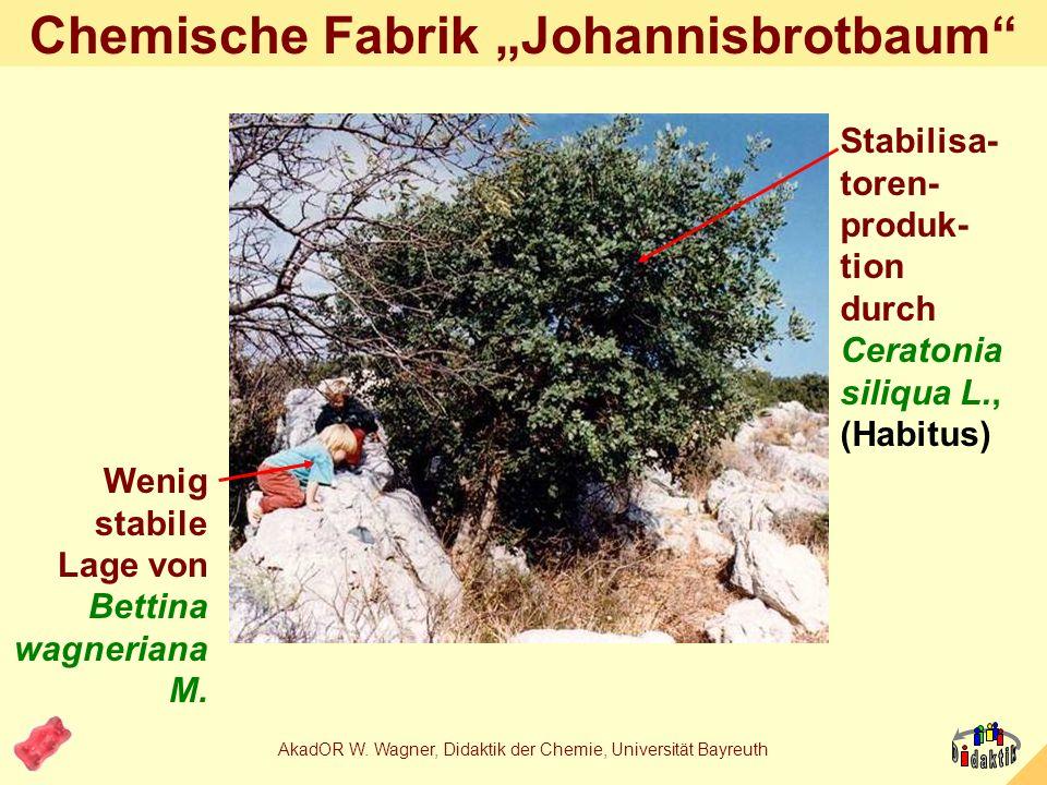 "Chemische Fabrik ""Johannisbrotbaum"