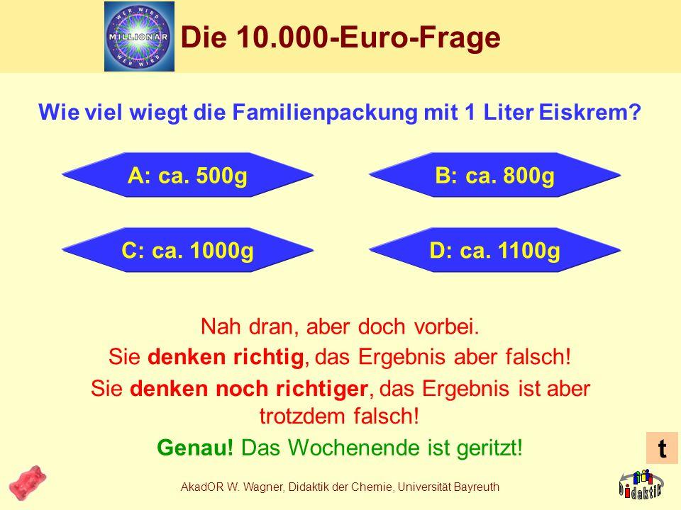 Wie viel wiegt die Familienpackung mit 1 Liter Eiskrem