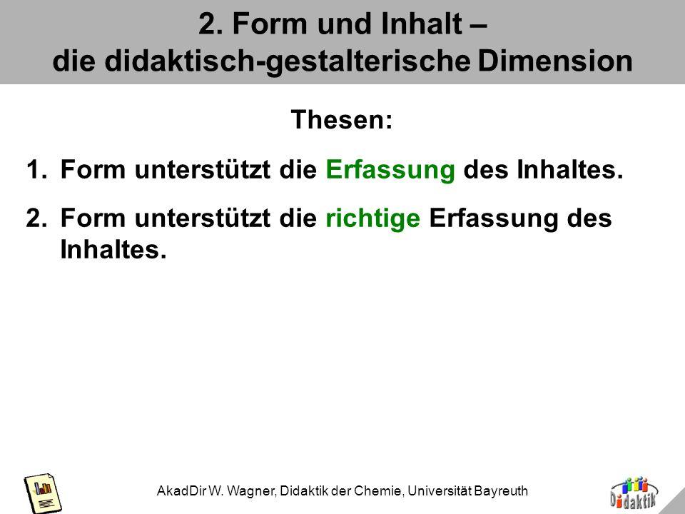 2. Form und Inhalt – die didaktisch-gestalterische Dimension