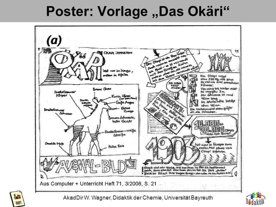 "Poster: Vorlage ""Das Okäri"