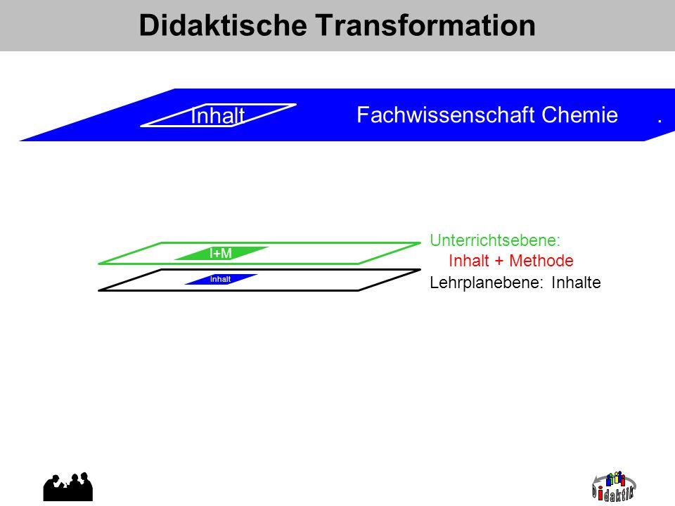 Didaktische Transformation