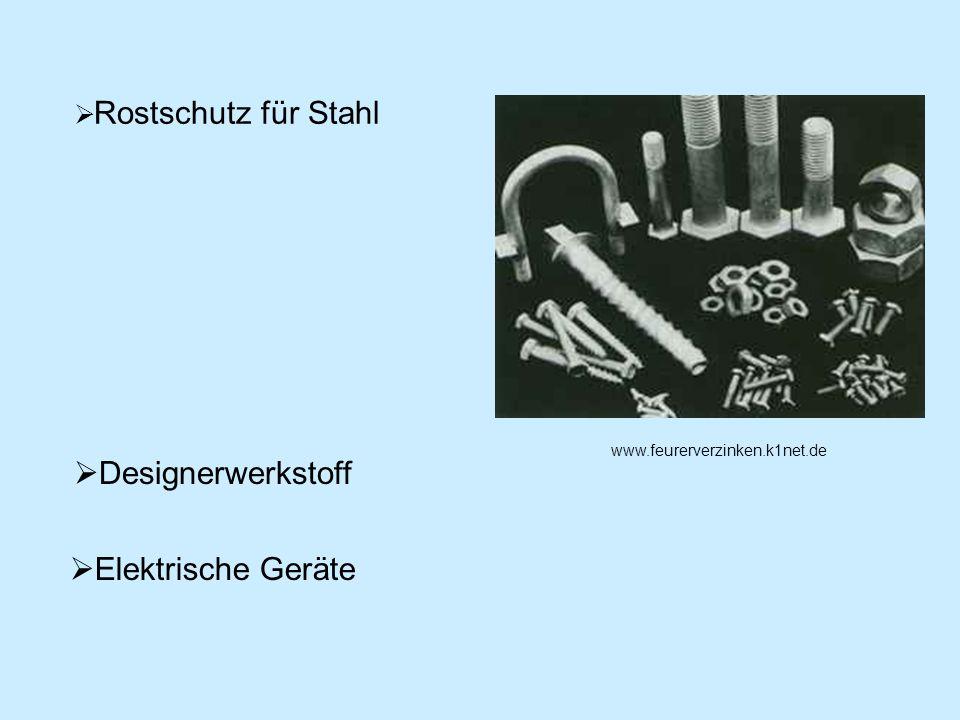 Designerwerkstoff Elektrische Geräte Rostschutz für Stahl