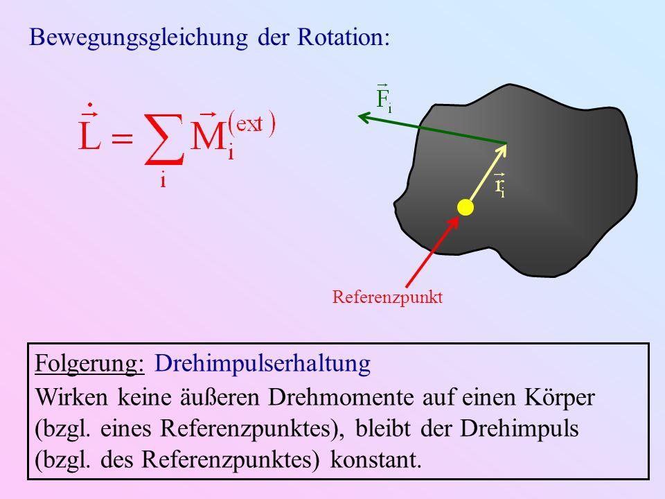 Bewegungsgleichung der Rotation: