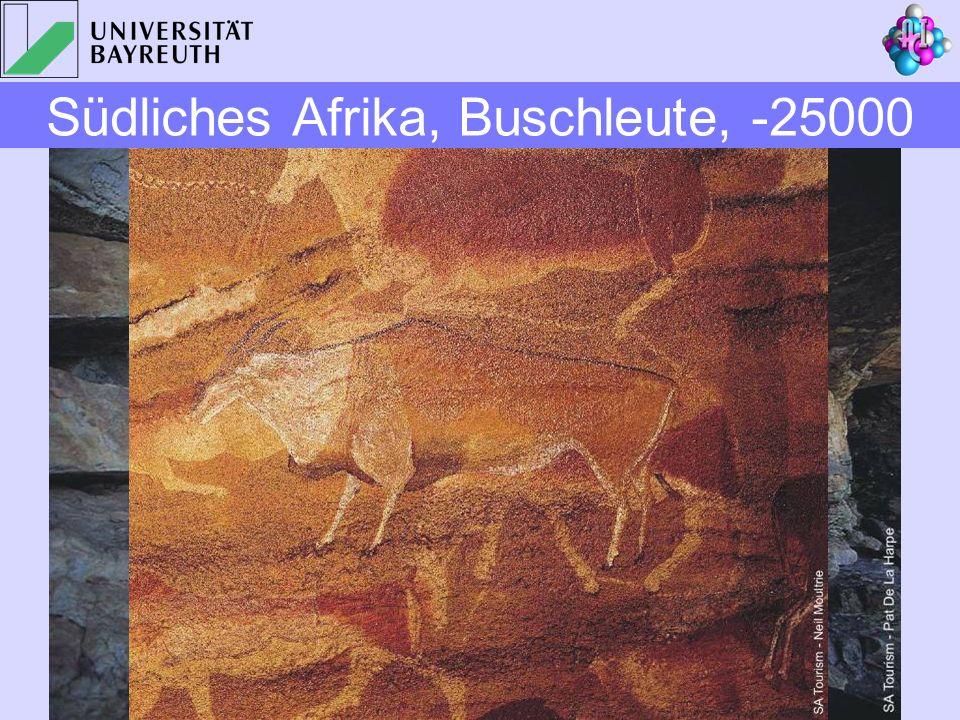 Südliches Afrika, Buschleute, -25000