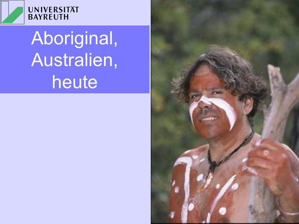 Aboriginal, Australien, heute