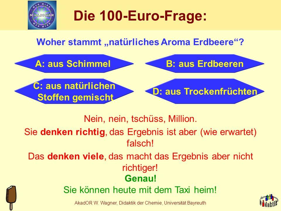 """Die 100-Euro-Frage: Woher stammt """"natürliches Aroma Erdbeere"""