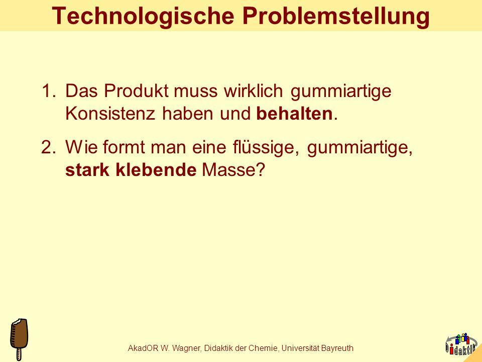 Technologische Problemstellung