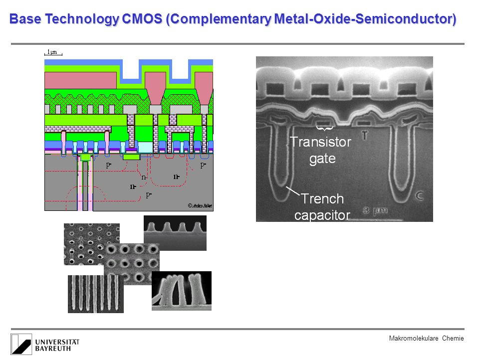 Base Technology CMOS (Complementary Metal-Oxide-Semiconductor)