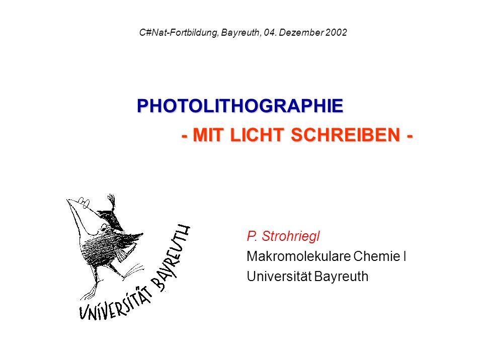 C#Nat-Fortbildung, Bayreuth, 04. Dezember 2002