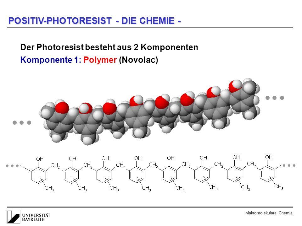 POSITIV-PHOTORESIST - DIE CHEMIE -