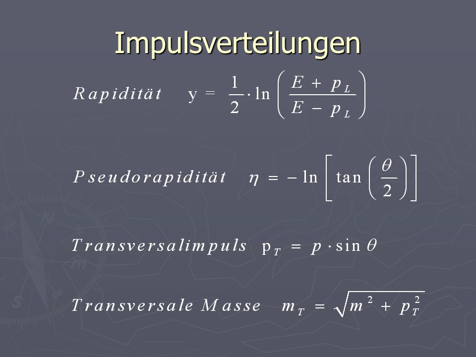Impulsverteilungen
