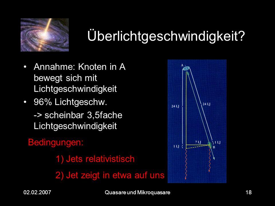Überlichtgeschwindigkeit