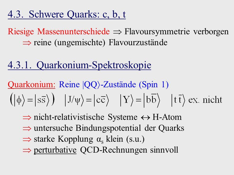 4.3.1. Quarkonium-Spektroskopie