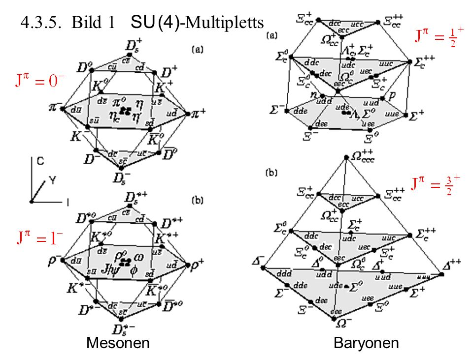 4.3.5. Bild 1 SU (4)-Multipletts