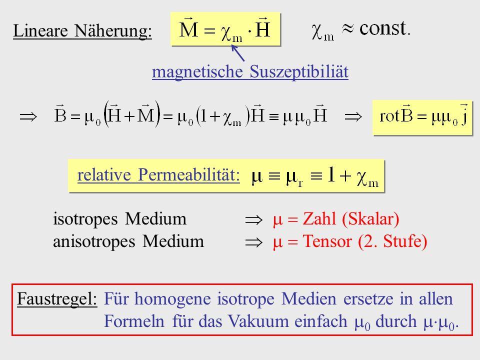 magnetische Suszeptibiliät