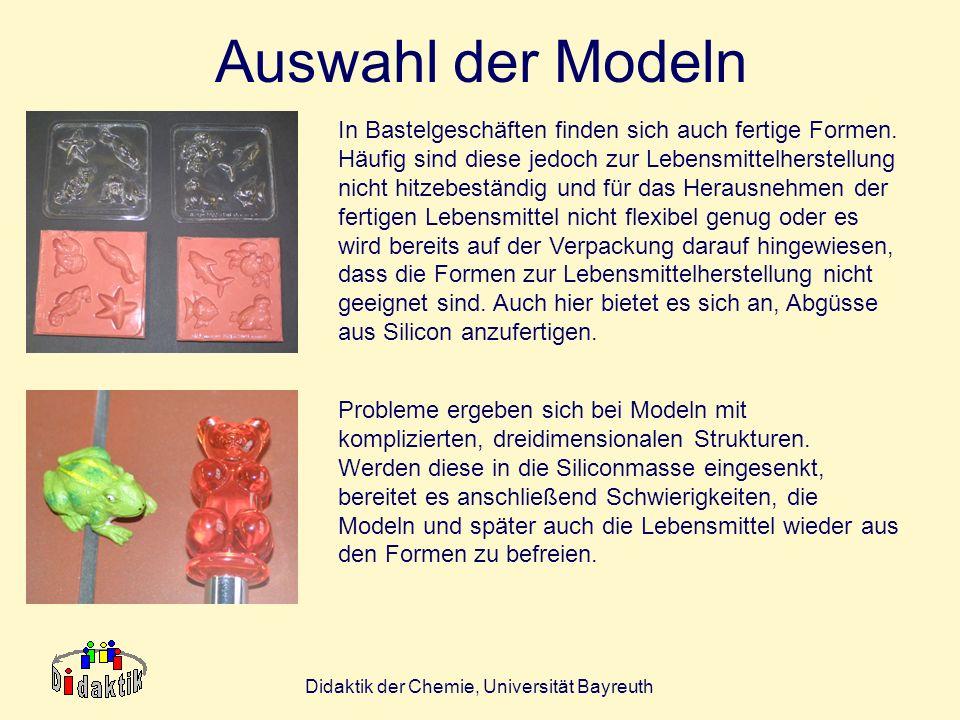 Didaktik der Chemie, Universität Bayreuth