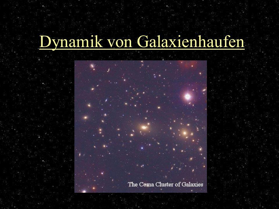 Dynamik von Galaxienhaufen