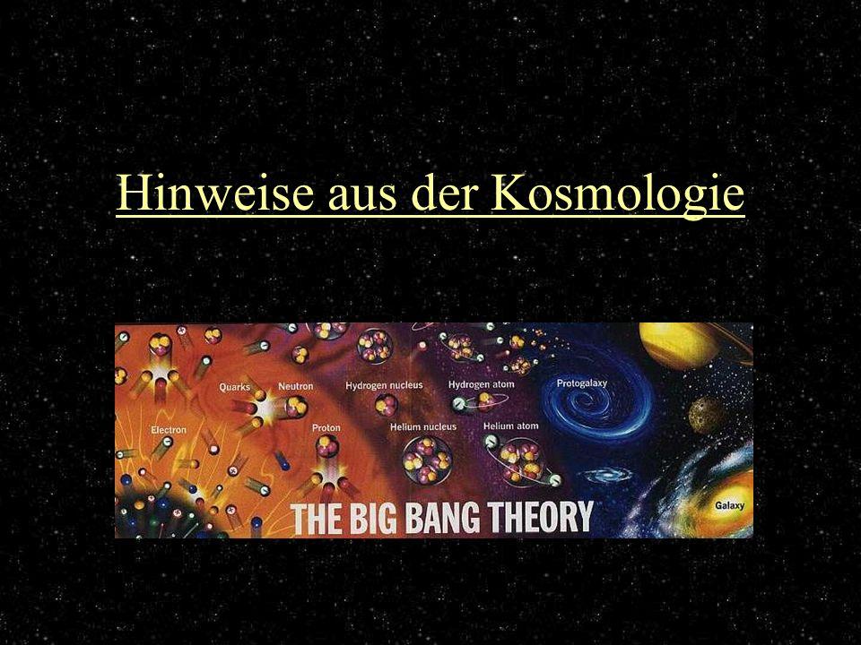 Hinweise aus der Kosmologie