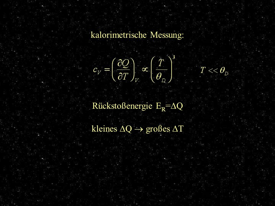 kalorimetrische Messung