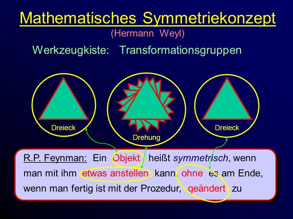 Mathematisches Symmetriekonzept (Hermann Weyl)