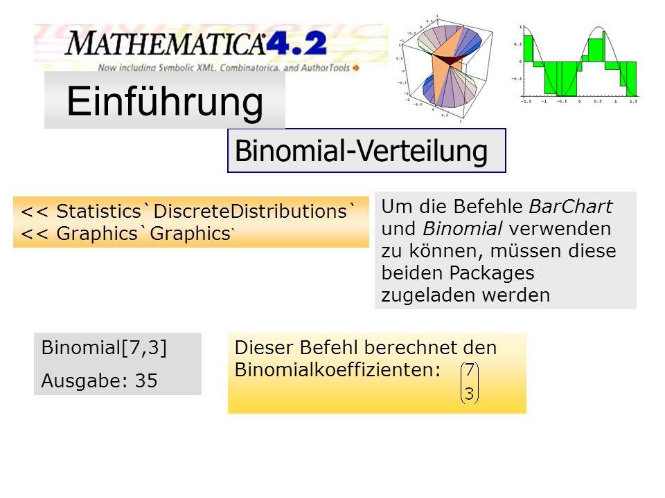 Einführung Binomial-Verteilung