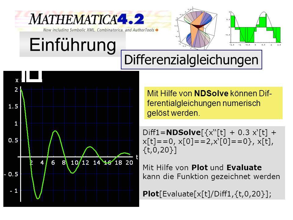 Einführung Differenzialgleichungen