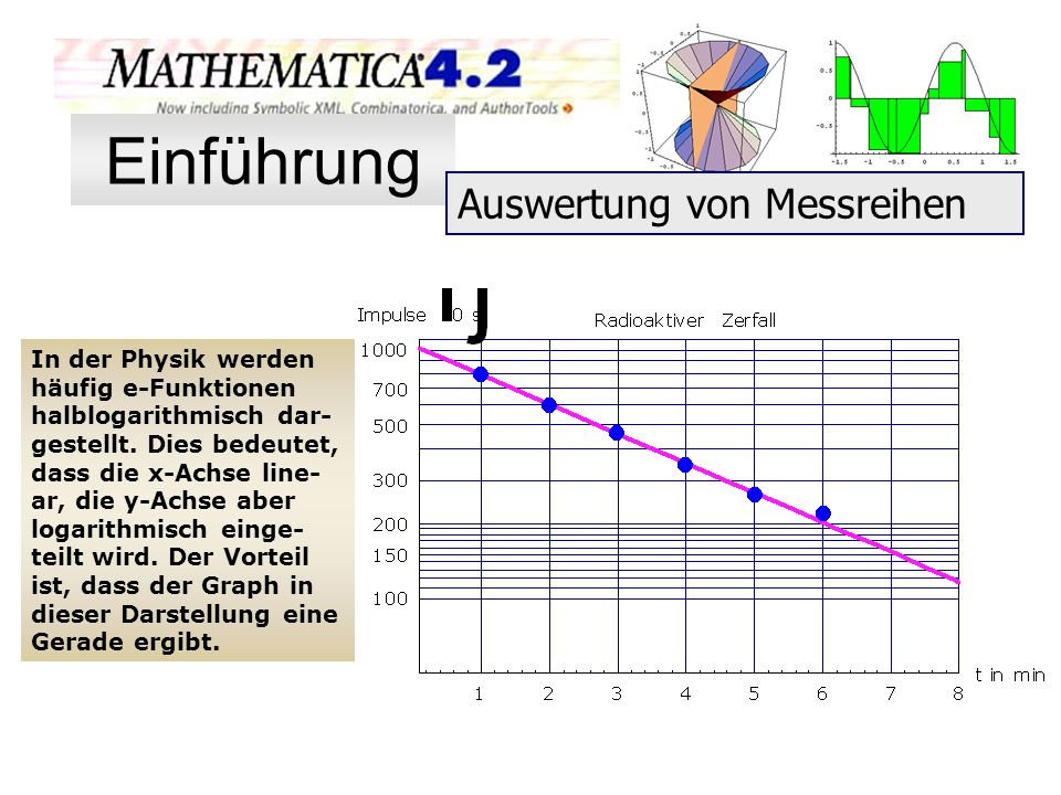 Einführung Auswertung von Messreihen