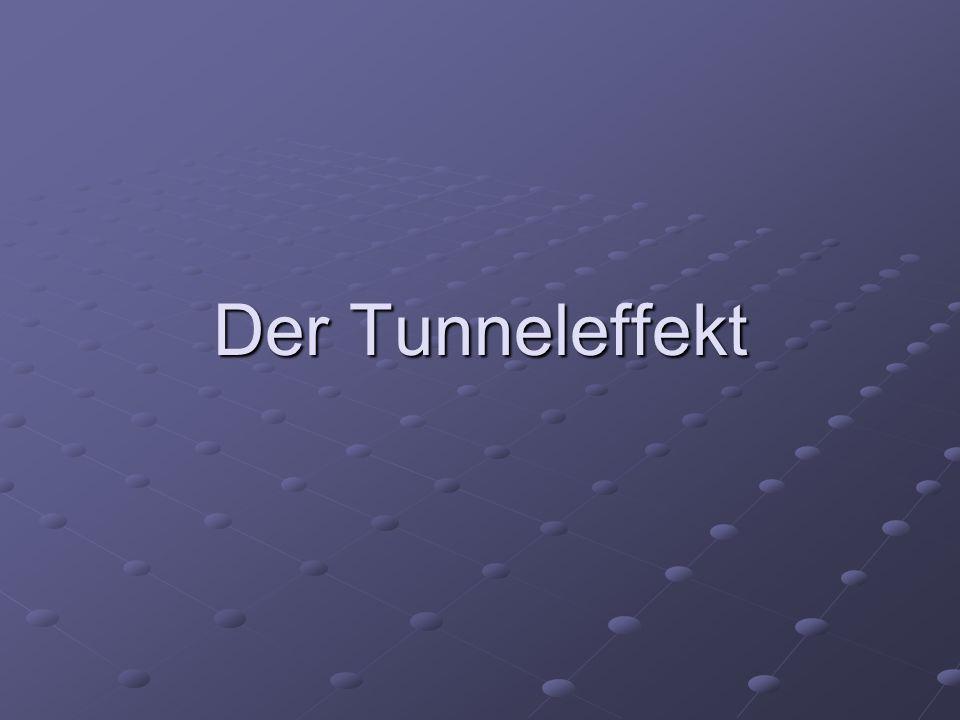 Der Tunneleffekt