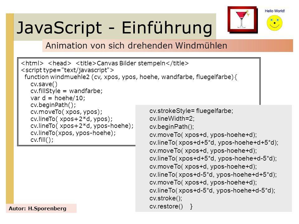 JavaScript - Einführung