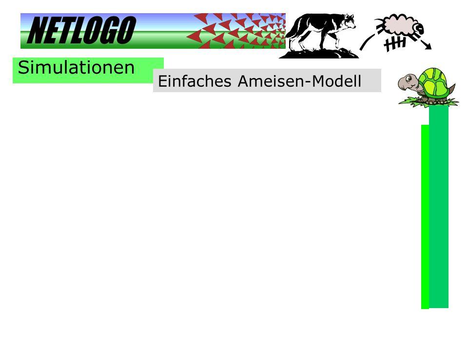 Simulationen Einfaches Ameisen-Modell
