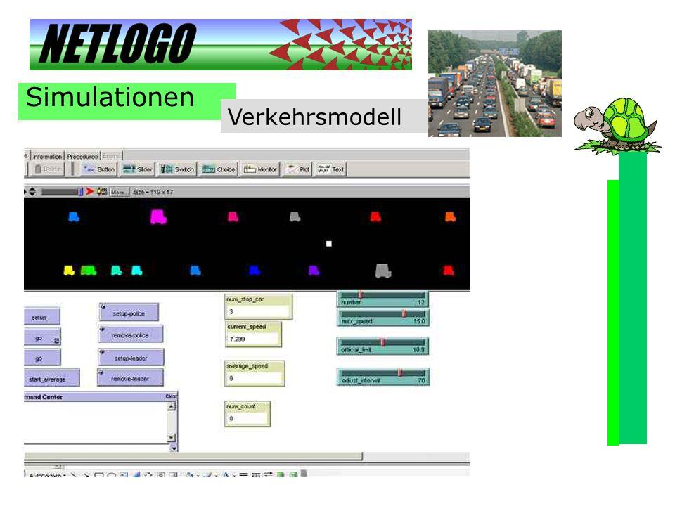Simulationen Verkehrsmodell