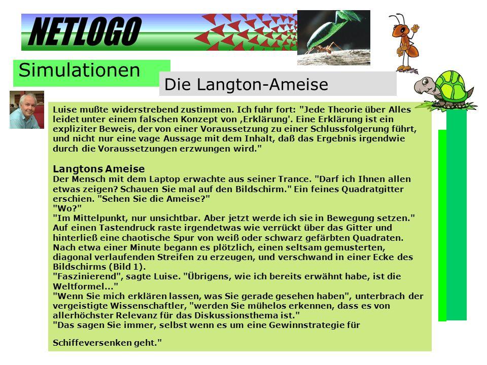 Simulationen Die Langton-Ameise
