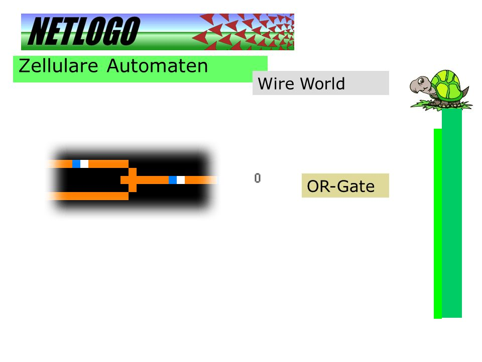 Zellulare Automaten Wire World OR-Gate