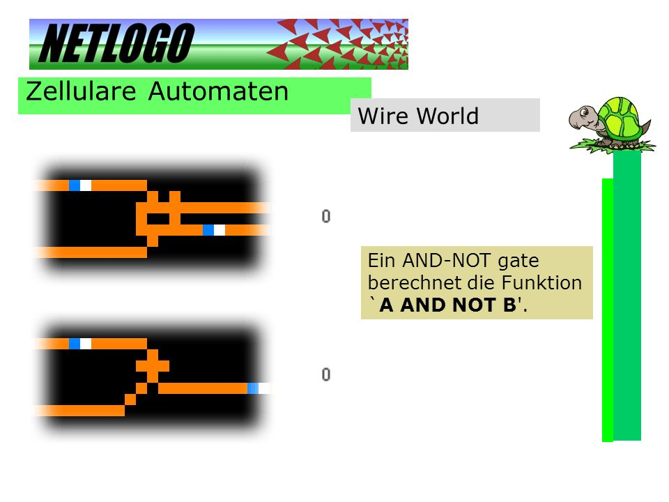Zellulare Automaten Wire World