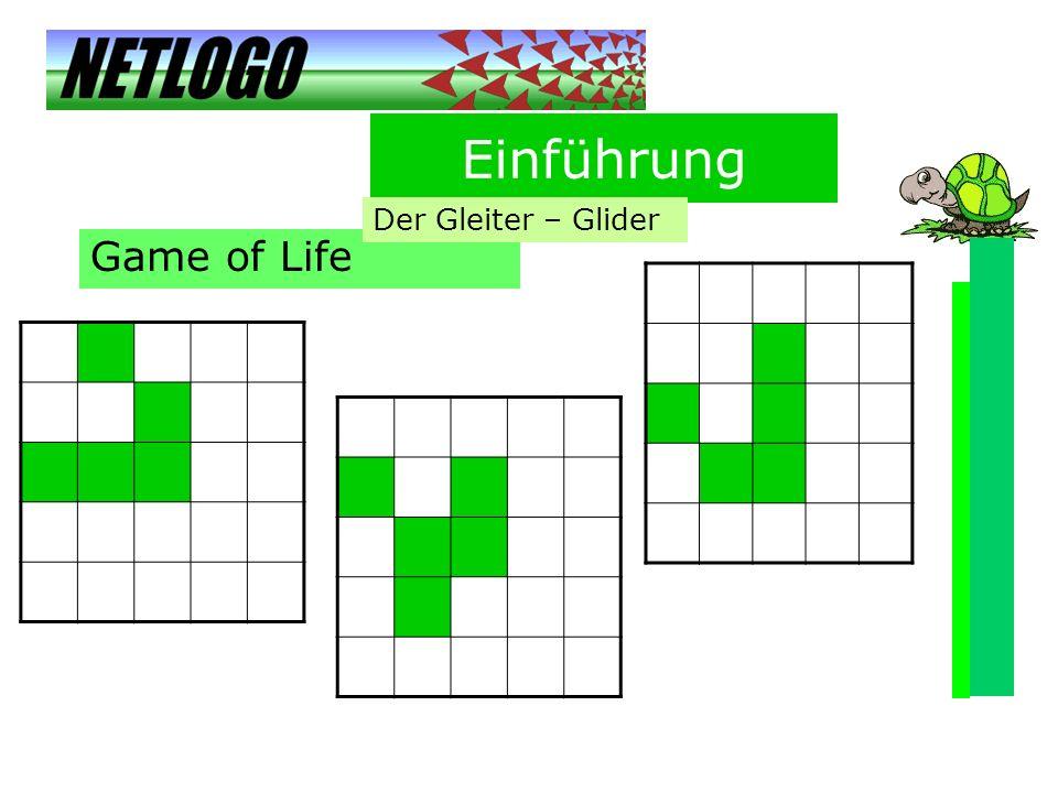 Einführung Der Gleiter – Glider Game of Life