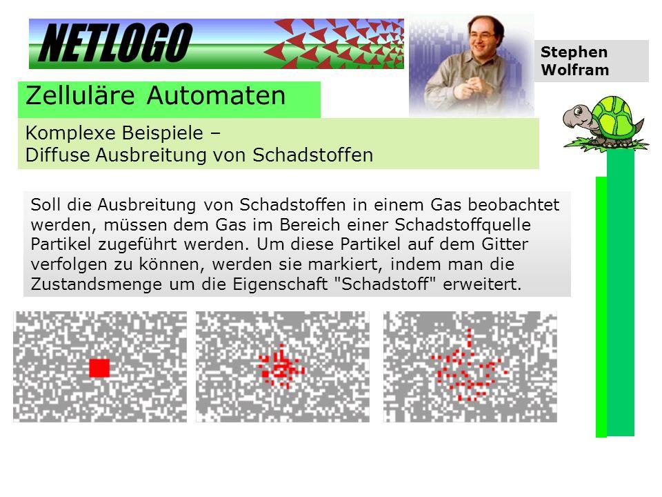 Zelluläre Automaten Komplexe Beispiele –