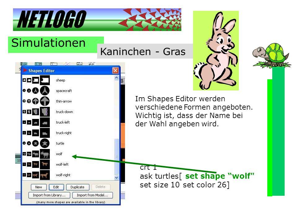 Simulationen Kaninchen - Gras crt 1