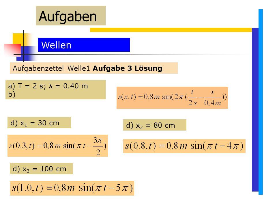 Aufgaben Wellen Aufgabenzettel Welle1 Aufgabe 3 Lösung