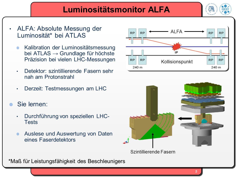 Luminositätsmonitor ALFA