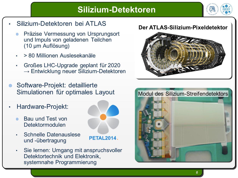 Der ATLAS-Silizium-Pixeldetektor