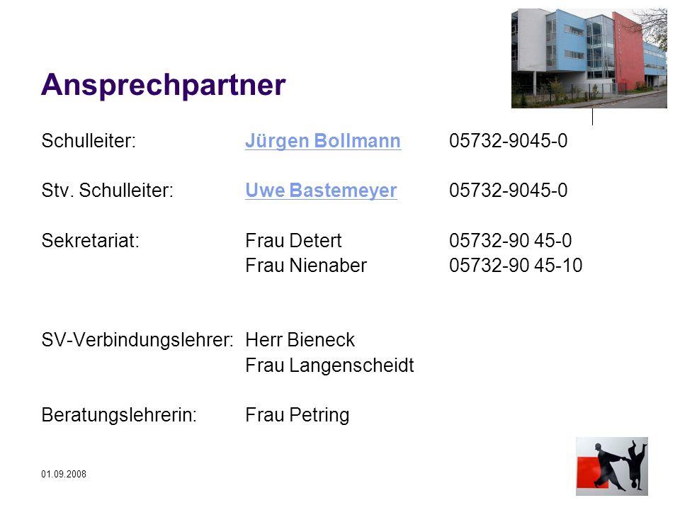 Ansprechpartner Schulleiter: Jürgen Bollmann 05732-9045-0