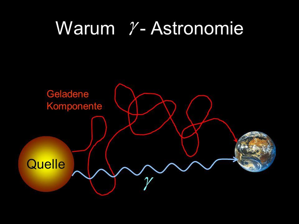 Warum - Astronomie Geladene Komponente Quelle