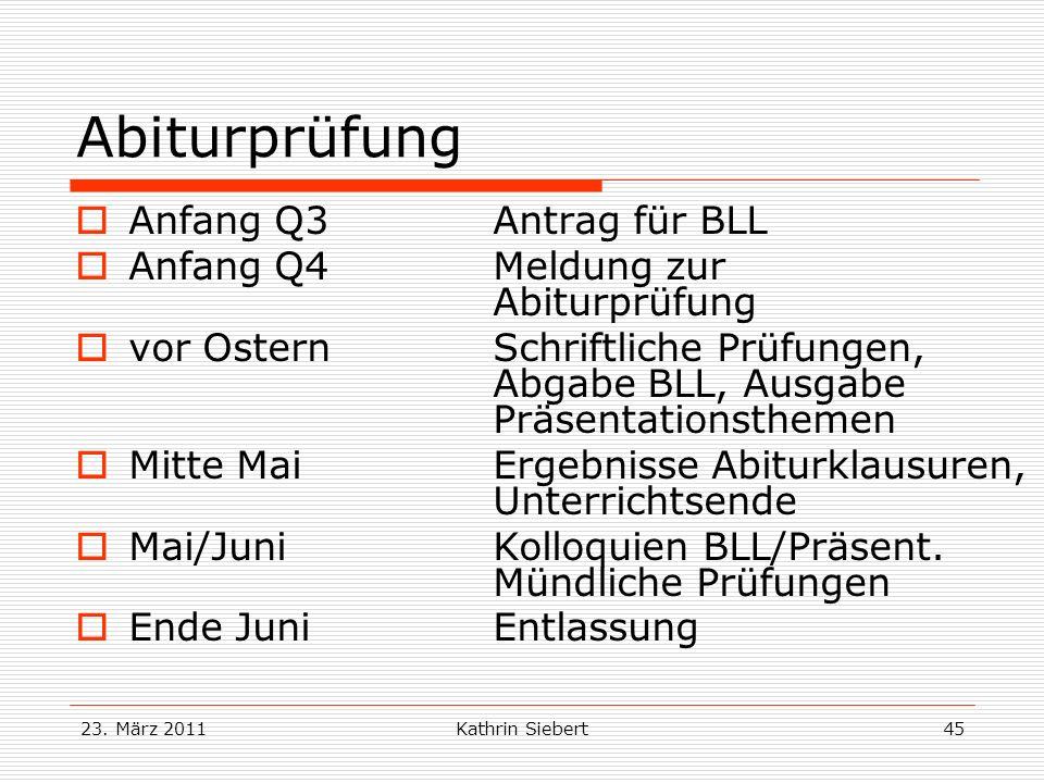 Abiturprüfung Anfang Q3 Antrag für BLL
