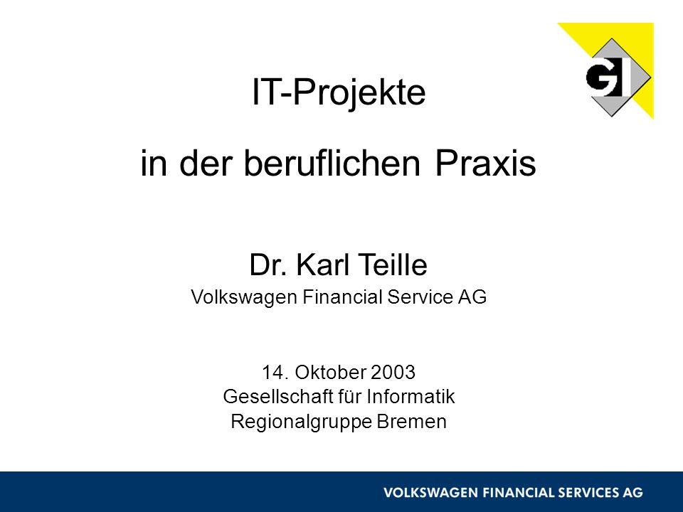 IT-Projekte in der beruflichen Praxis